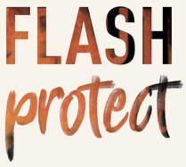Texte produit Flash protect velds