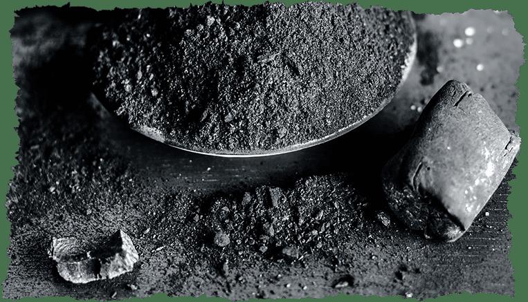 charbon végétal velds