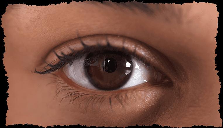 oeil femme décongestionner yeux