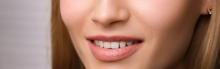 sourire femme lèvres
