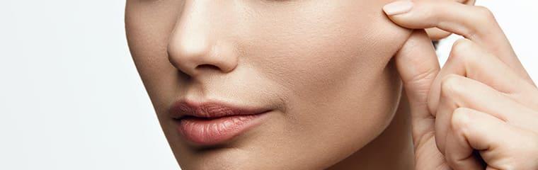 visage femme peau ferme