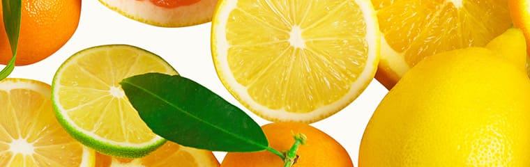 agrumes fruits acides