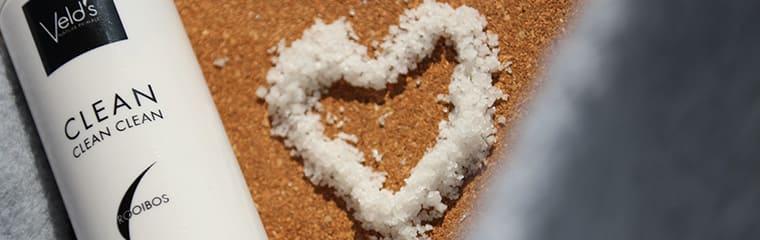 Huile démaquillante coeur sel velds