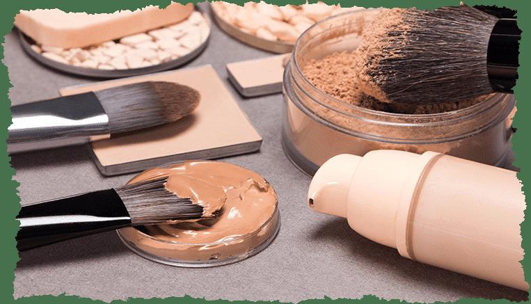 produits maquillage teint peau