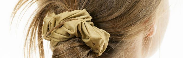 Cheveux femme chignon