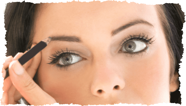 Sourcils femme maquillage
