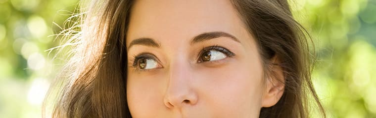 yeux femme maquillage nude naturel