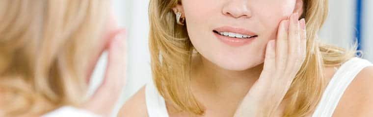 visage peau parfaite sans imperfections